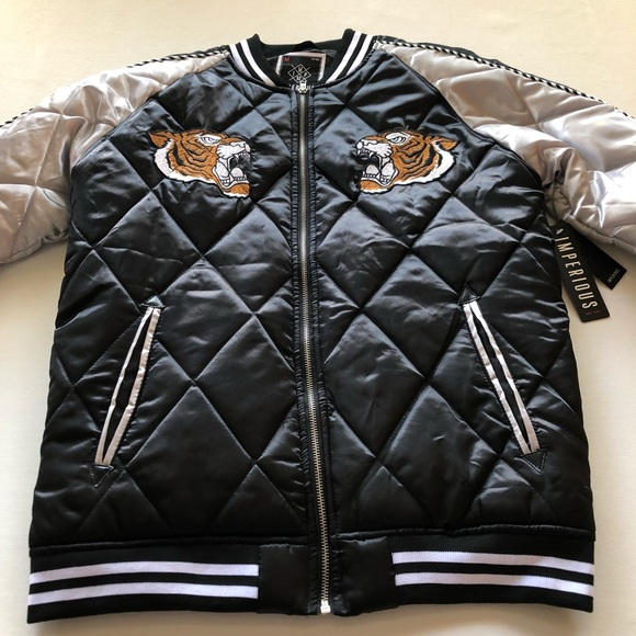 Imperious Jackets Coats Quilted Bomber Jacket Coat Medium New